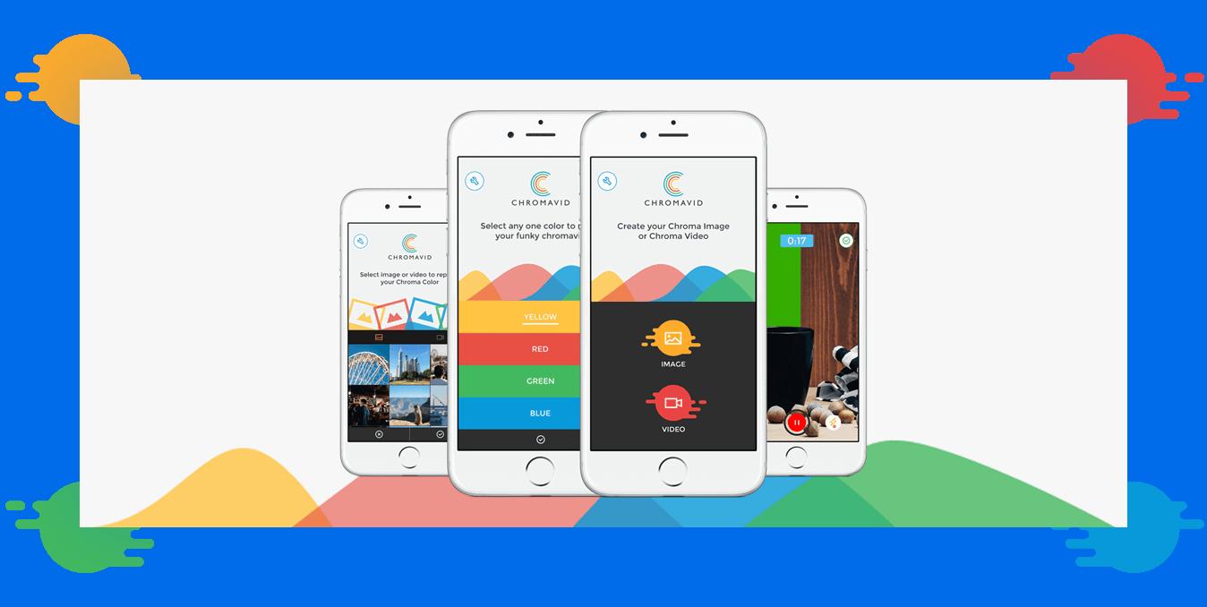 Chromavid GreenScreen Chromakey iPad, iPhone App - Appsformobs